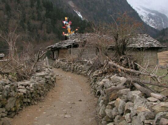 Yubeng Village: 雨崩村
