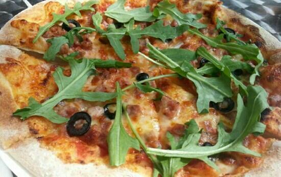 LaSa Dio Coffee (Bu DaLa Gong Plaza): pizza