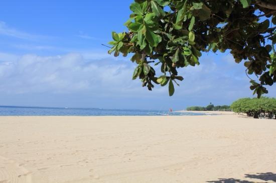 Grand Hyatt Bali: 房间前面的沙滩