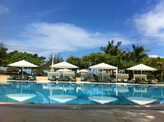 Shangri-La's Rasa Ria Resort & Spa: 泳池,超干净