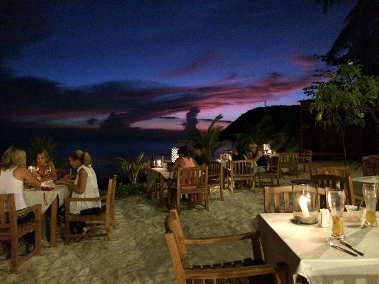 Mai Samui Resort & Spa : Beach restaurant