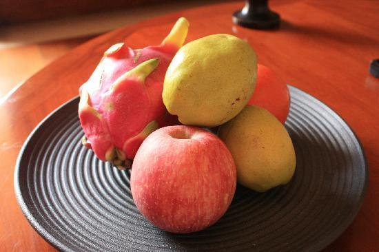 Brilliant Resort & Spa : 欢迎水果