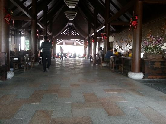 Yalong Bay Villas & Spa: 大厅