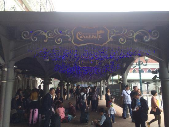 Casino at Venetian Macao : 到达处