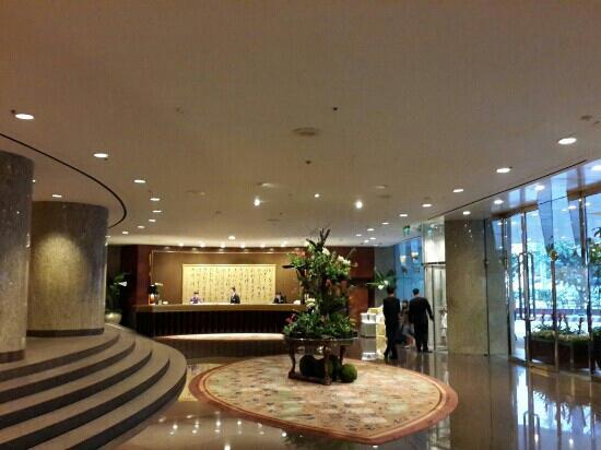 Shangri-La's Far Eastern Plaza Hotel Taipei: 酒店大堂
