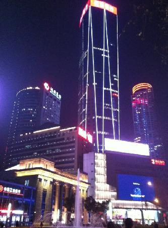 南京新街口商业步行区