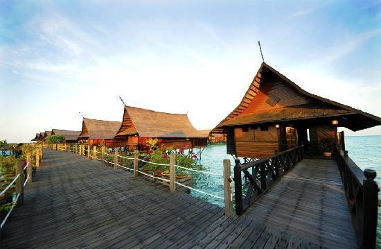 Sipadan-Kapalai Dive Resort: 卡帕莱水屋