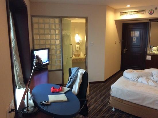 Holiday Inn Express Tianjin City Center: 奇怪的房型别样的体验。。。