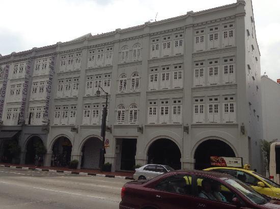 Bliss Hotel Singapore: 酒店外观