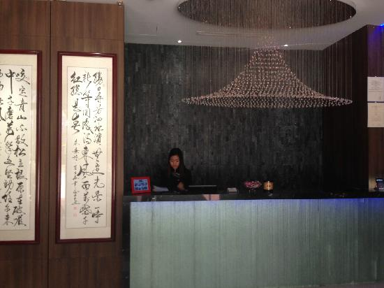 Bliss Hotel Singapore: 前台