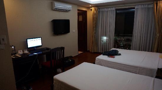 Finnegans Hotel: Deluxe twin bed