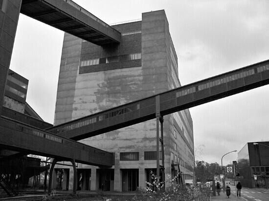 Zeche Zollverein Essen: 工业的力量