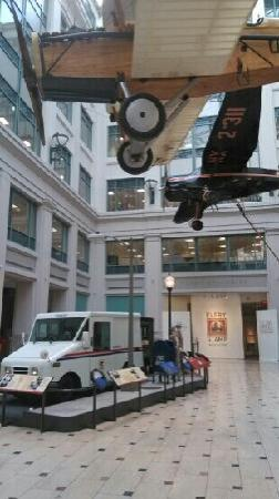 National Postal Museum : 一层大厅