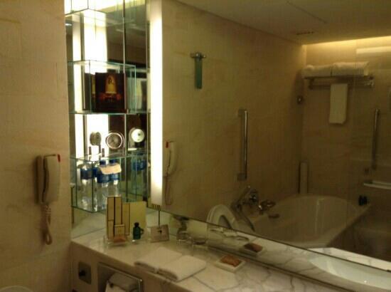 Shangri-La Hotel Beijing : 酒店卫生间