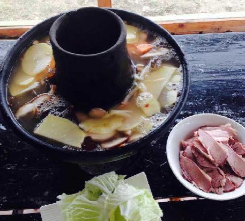 Shangri-La Maji Xiangrikui Hostel : 传统的藏式火锅