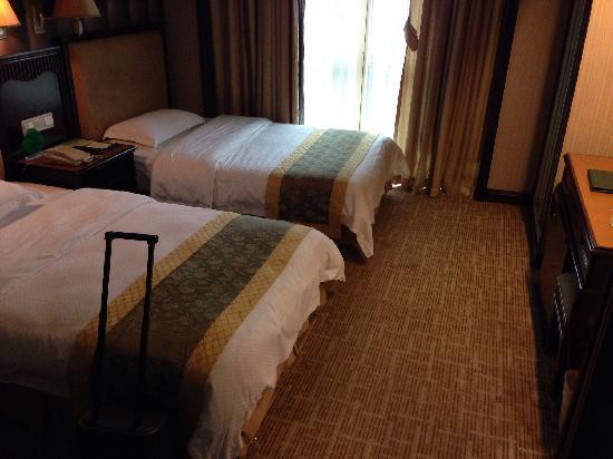 Nanfang Yiyuan Hotel: 豪华双人床