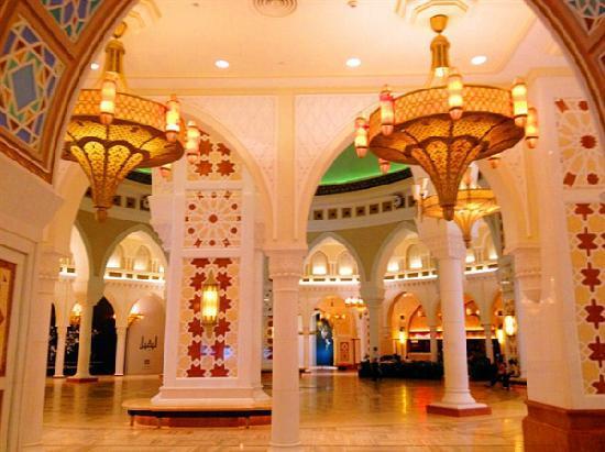 The Dubai Mall : 迪拜购物中心