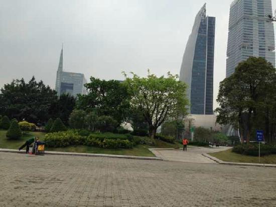 Zhujiang New Town : 珠江新城