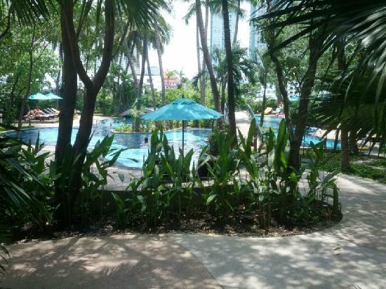 Chatrium Residence Sathon Bangkok: 舒服