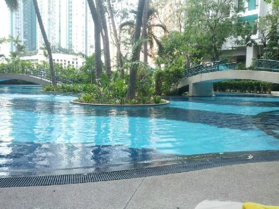 Chatrium Residence Sathon Bangkok : 舒服