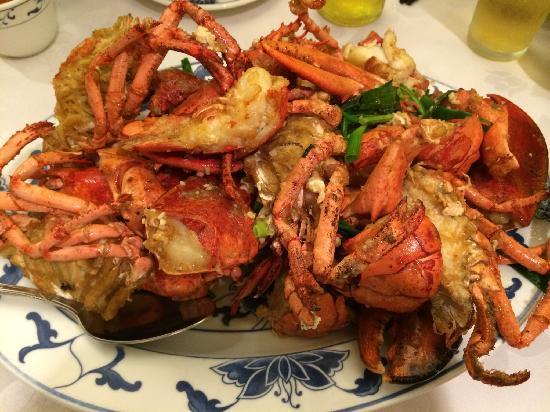 Fook Yuen Seafood Restaurant: 龙虾