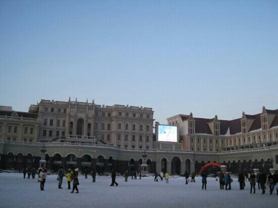 Sophia Square : 诺大的广场