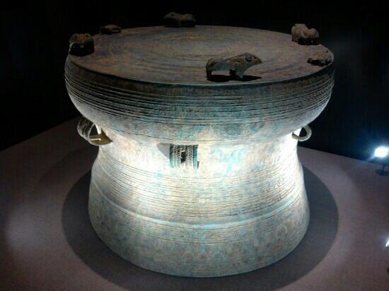Baoji Bronze Ware Museum: 这个是商周时代的青铜器了