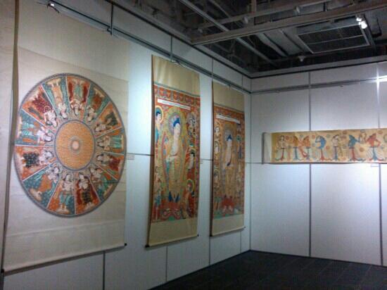 TangBo Art Museum: 唐博的书画展很不错