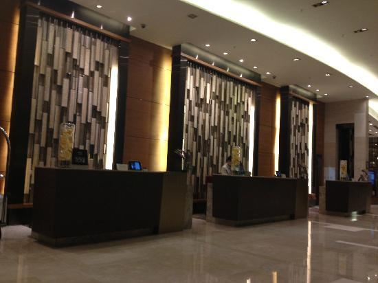 Courtyard Seoul Times Square : lobby