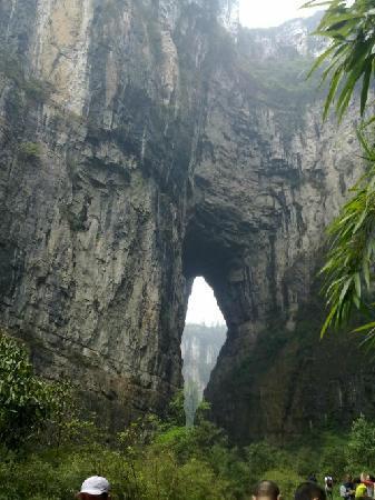 Wulong Tiankeng Three Bridges: 3