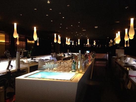 Sheraton Hsinchu Hotel: Light bar