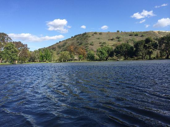 Carbon Canyon Park: Lake