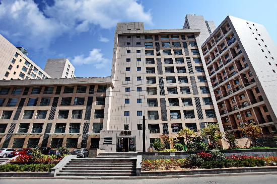 Lejiaxuan Creative Theme Serviced Apartments Qingdao Thumb Plaza