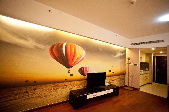 Lejiaxuan Creative Theme Serviced Apartments Qingdao Thumb Plaza: 雅圆阁4