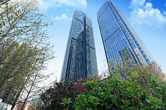 Lejiaxuan All Suites Service Apartment Qingdao Aofan Zhongxin: 奥帆店外观1