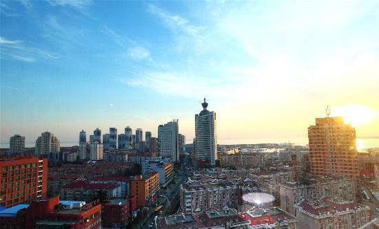 Lejiaxuan All Suites Service Apartment Qingdao Aofan Zhongxin: 奥帆店外观2