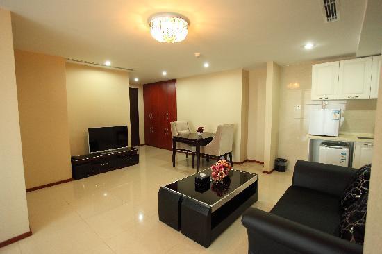 Lejiaxuan All Suites Service Apartment Qingdao Aofan Zhongxin: 观海阁2