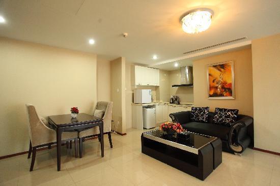 Lejiaxuan All Suites Service Apartment Qingdao Aofan Zhongxin: 观海阁3