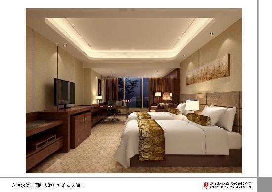 Liangdu Jinjiang Hotspring International Hotel: 房间1