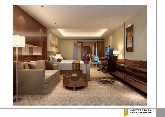 Liangdu Jinjiang Hotspring International Hotel: 房间