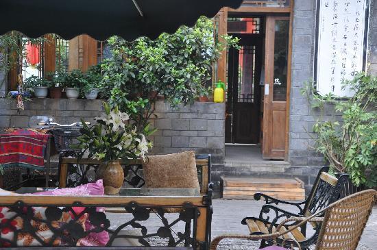 Qingxi Inn: 昨天新摆的百合