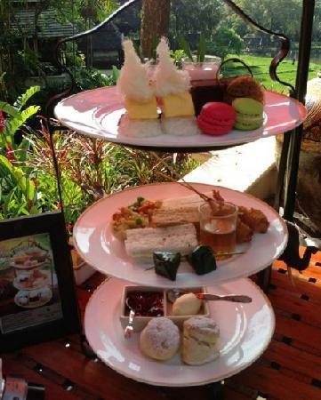 Four Seasons Resort Chiang Mai: 下午茶
