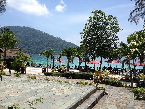 Perhentian Paradise Resort: 餐厅外景