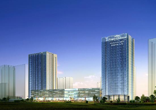 Howard Johnson Kangda Plaza Qingdao: 酒店外景