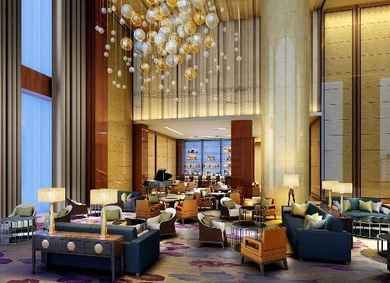 Howard Johnson Kangda Plaza Qingdao: Lobby Bar 艺廊大堂吧