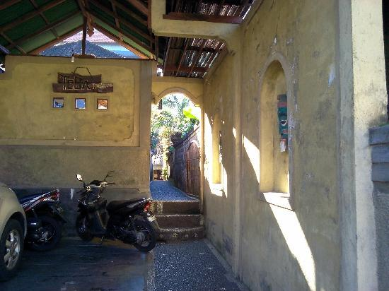 Teba House Ubud Guest House : 庭院深深
