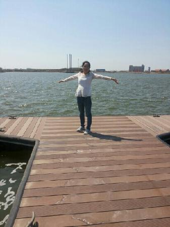 Tianjin Binhai Aircraft Carrier Theme Park : 滨海的海边