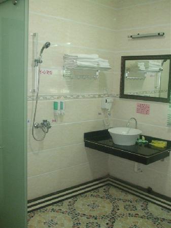 Longyun Hotel: 浴室