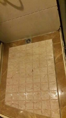 Yancheng Hotel : 连续洗三分钟,易涨水,流一地,你看到出水口有多小没?