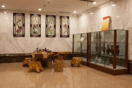 Xiandu Holiday Hotel: 大堂一角